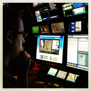 MMN alum Patrick Becker produces daily live newscasts at WABC-TV in New York.