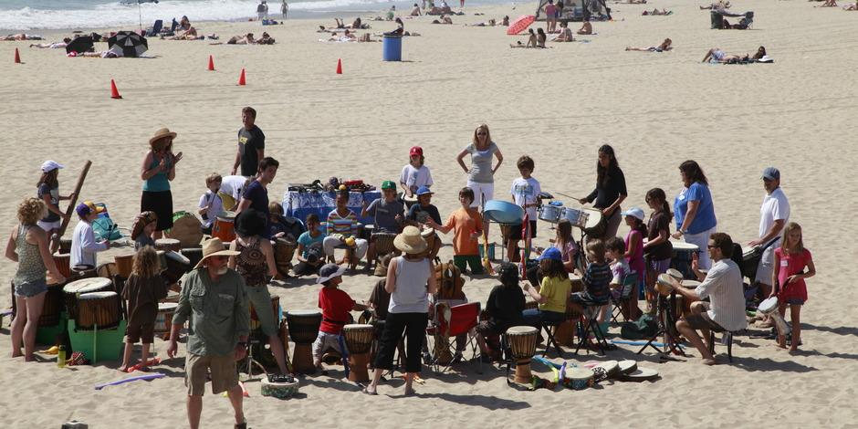Hermosa Beach Drum Circle