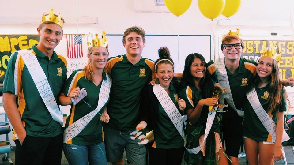Homecoming Court nominations in the ASB Room