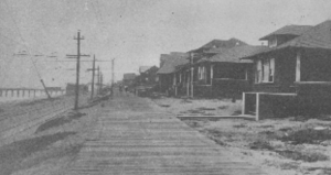 """Boardwalk"" circa 1912 (photo courtesy of Manhattan Beach Historical Society)"