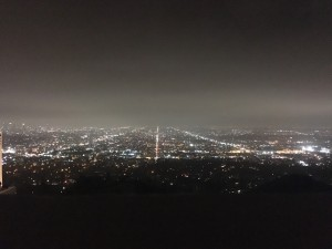 View of Nighttime L.A. from the Griffith Observatory