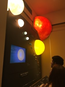 A Planet Exhibit at the Observatory