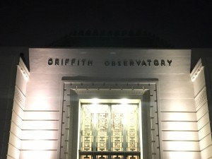 The Front of the Griffith Observatory