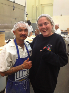 Wesley, Chino, and Hairnets