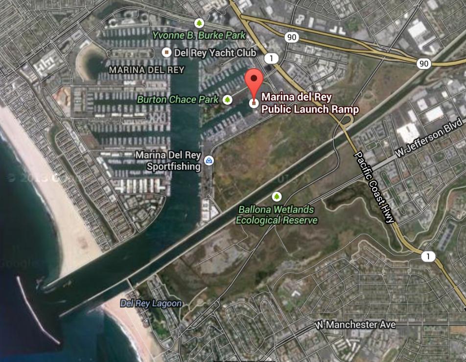 Marina Del Rey Public Launch Ramp