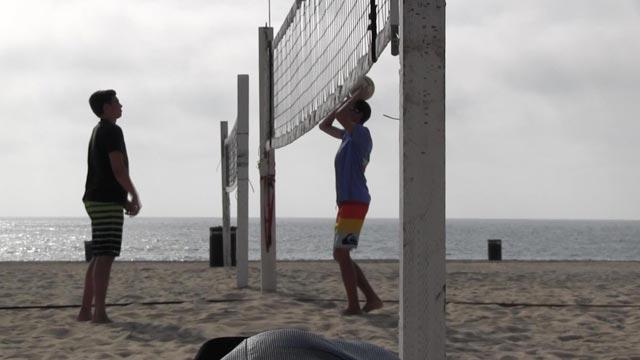 Beach Versus Indoor Volleyball