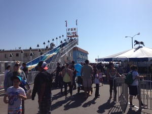 The 30 ft tall 'Fun Slide'