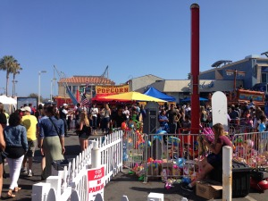 Entrance into the Kiddie Carnival