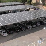 Solar Panels were installed on campus to make the school more energy efficient
